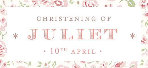 Ready Write Christening Invitations