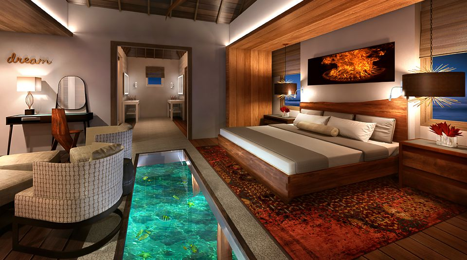 Water Bungalow Bora Bora
