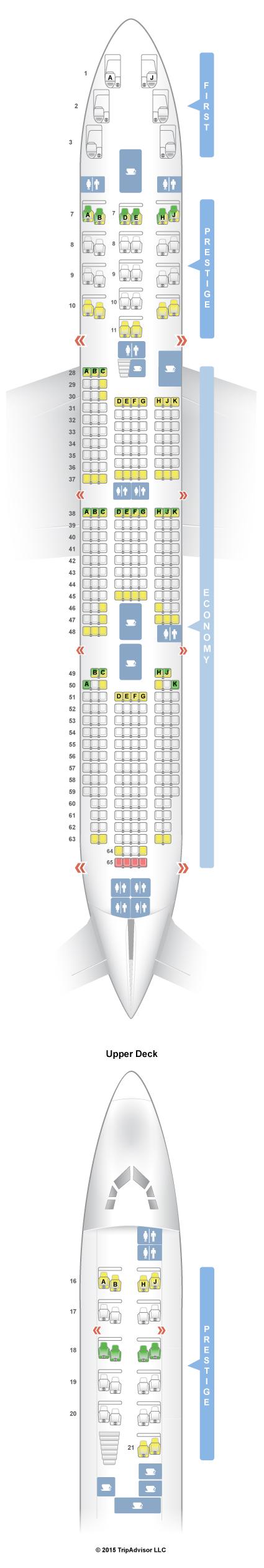 800 Air Seat Korean A380 Map Airbus