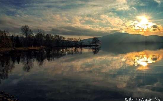 Lake Ny Chazy Adronkdacks