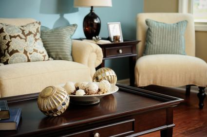 Interiors Furniture   Design  Living Rooms In Blue And Brown Blue  Brown   Cream   Living   family room ideas