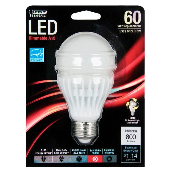 Led Replacement Light Bulb Package