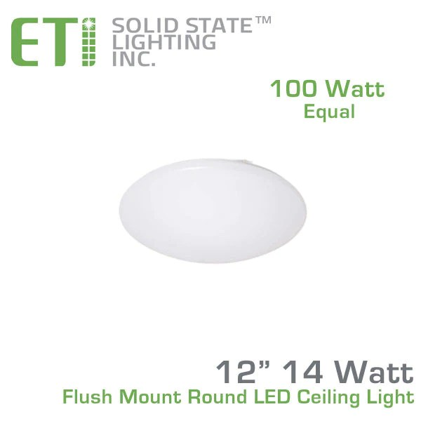 Round Fluorescent Ceiling Light Bulb