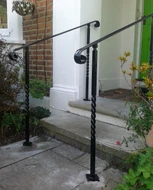 Interior And Exterior Handrails For Mobility Elderly Disabled | Outside Handrails For The Elderly | Foshan Demose | Industrial Handrail | Metal Stair Handrail | Front Porch | Wrought Iron