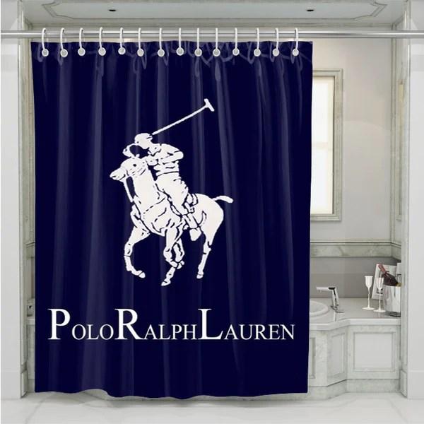 Ralph Lauren Polo Blue Shower Curtain Onymart