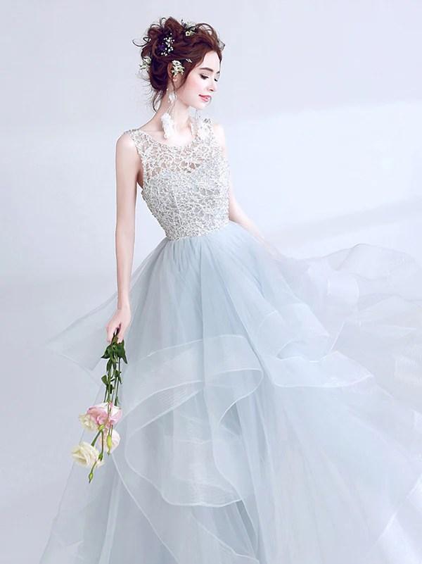 71070e5c51 2018 Chic Prom Dress Lace Cheap Long Prom Dress  er067 Ortdress