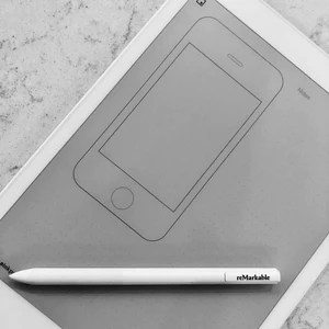 reMarkable   iPhone Wireframe Template     Einkpads reMarkable   iPhone Wireframe Template