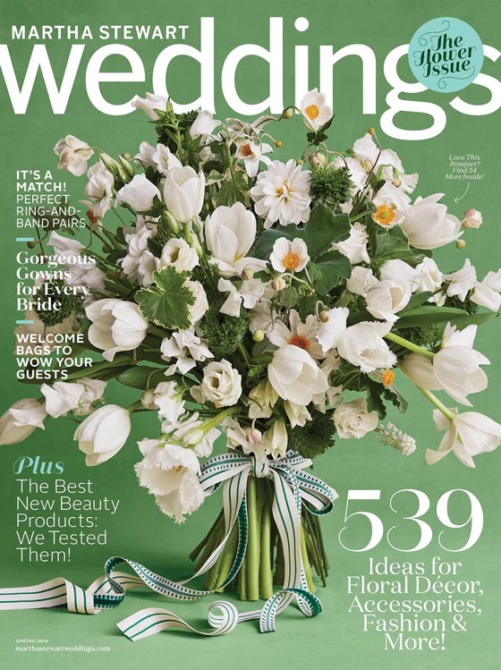 Martha Stewart Weddings Magazine Spring 2017