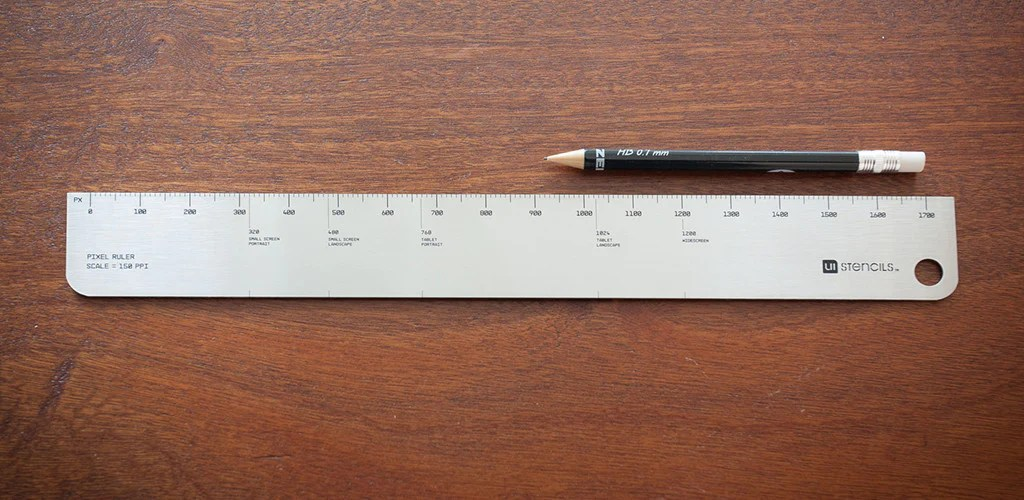 Screen 1 Inch 2 Ruler