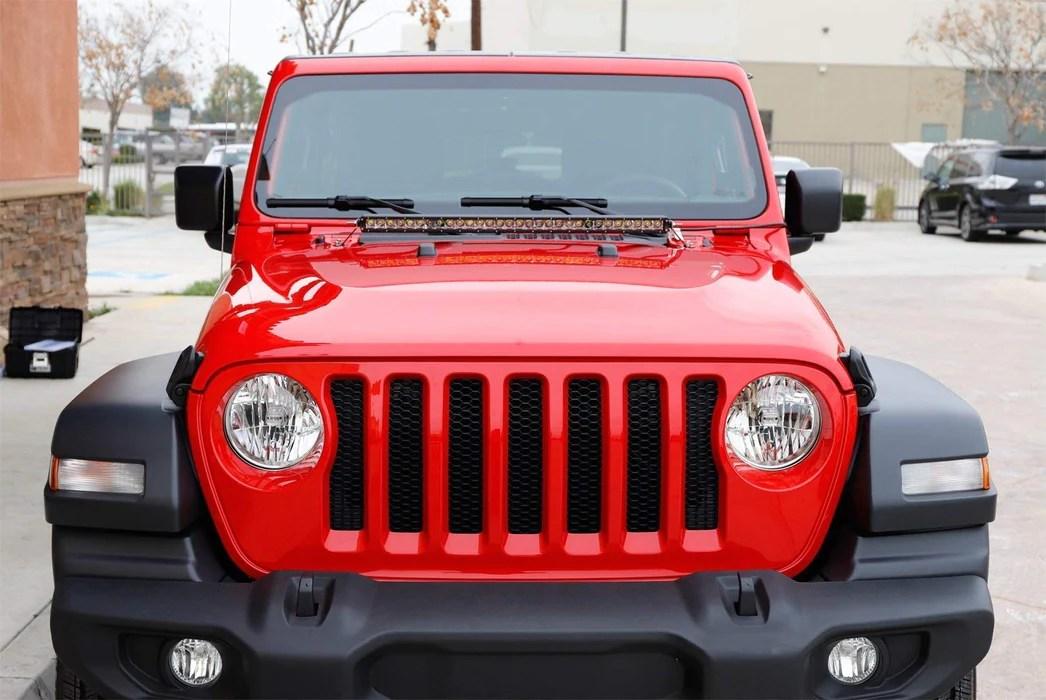 Jeep Wrangler Light Bar