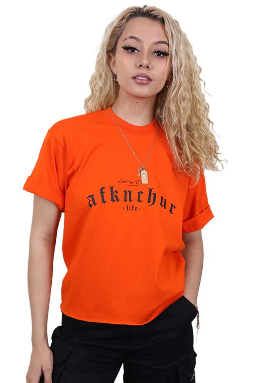 AFKNCHUR Pro Club Circle of Life Tee White – Urban Wear Online