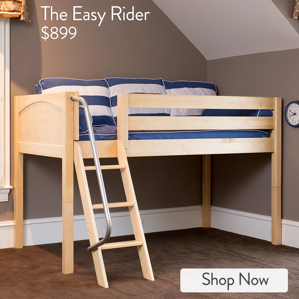 Versatile Low Lofts For Small Rooms And Growing Kids – Maxtrix Kids | Loft Stairs For Small Spaces | Child Friendly | Studio Apartment Minimalist | Corner | Steel | Loft Staircase
