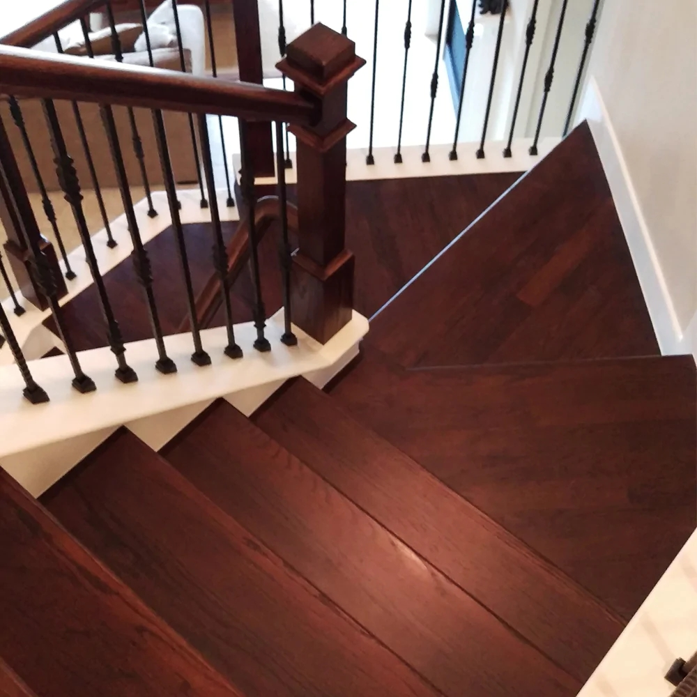24 Blank Hardwood Stair Tread Affordable Stair Parts | 36 Oak Stair Treads | Stair Parts | Red Oak | Lowes | White Oak | Unfinished Solid