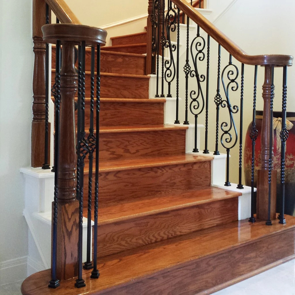 Solid Hardwood Stair Riser Affordable Stair Parts – Affordable | Hardwood Steps And Risers | Gray Painted | Cherry Wood | Hardwood Floor | Timber | White