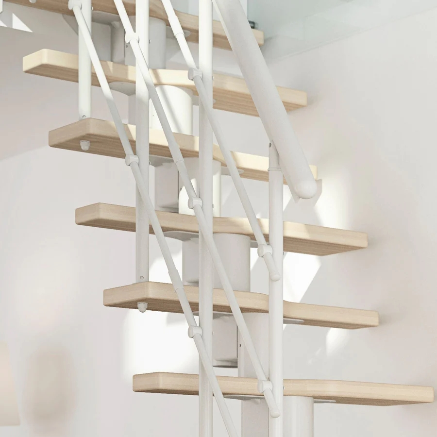 Calgary 47 Diameter Extra Baluster Spiral Staircase Kit | Dolle Calgary Spiral Staircase