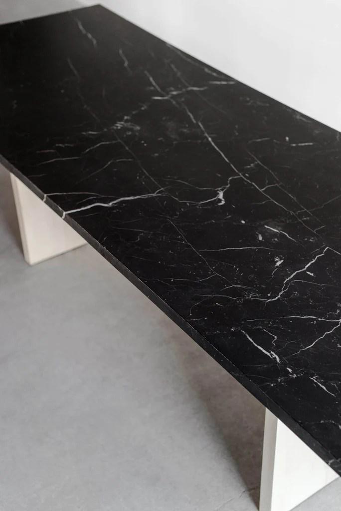 Marquina Dining Table Croft House Design Studio La