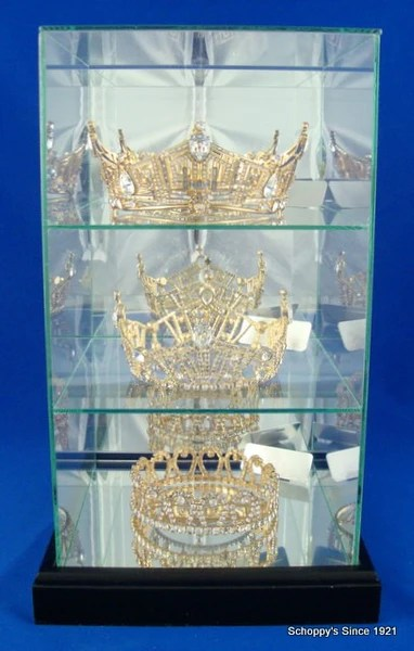 Three Tier Crown Display Case Schoppy S Since 1921