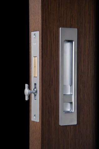 Halliday Baillie Modern Pocket Door Hardware That Doesn
