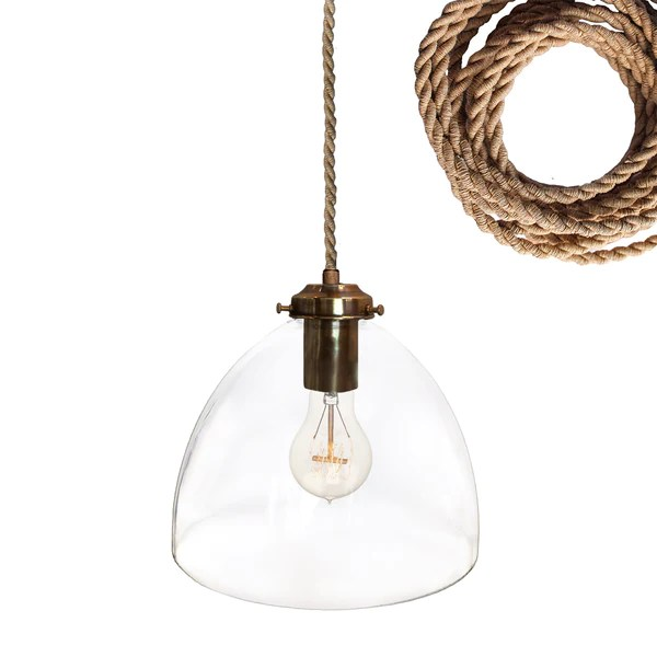pendant lighting with rope # 36