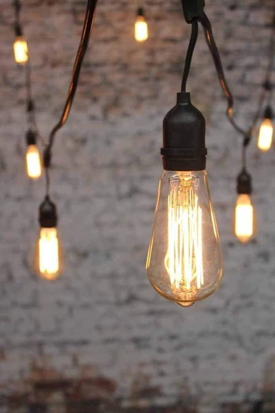 Track Lighting Edison Bulbs