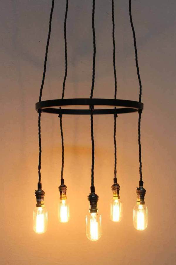 industrial cluster pendant lighting # 26