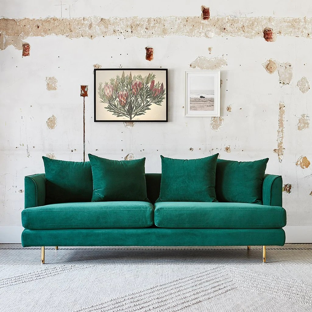 Sofa And Two Chairs Set