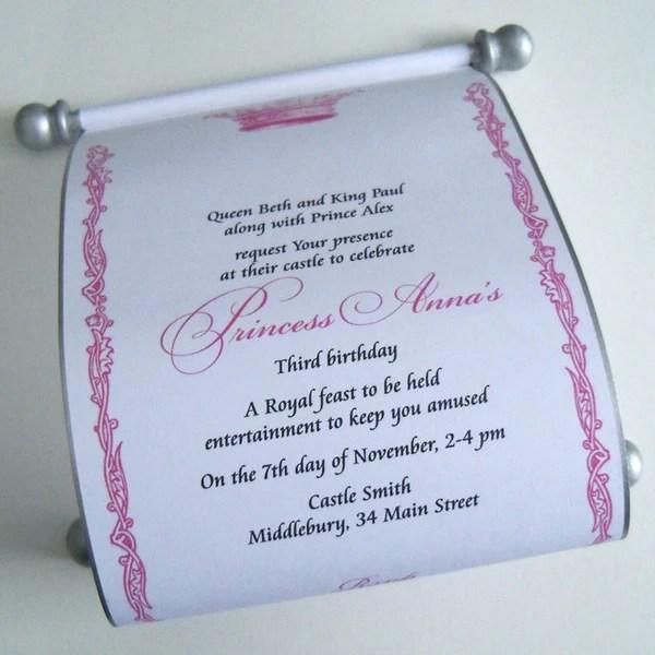 Baptism Invitations Lavender