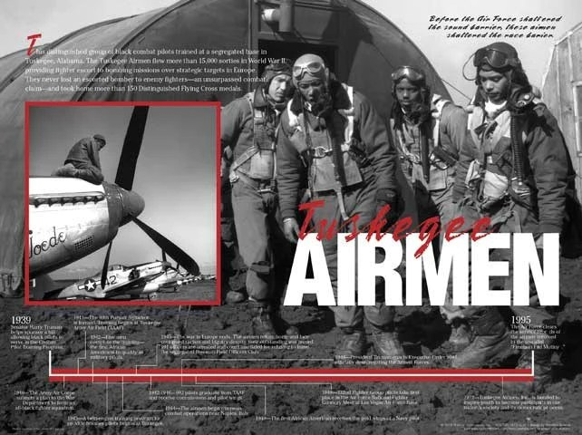 Tuskegee Airmen Timeline Poster By Techdirections The