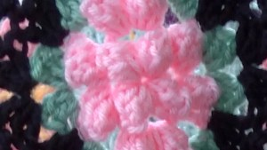 Vintage Granny Popcorn Afghan Crochet Pattern Maggie's