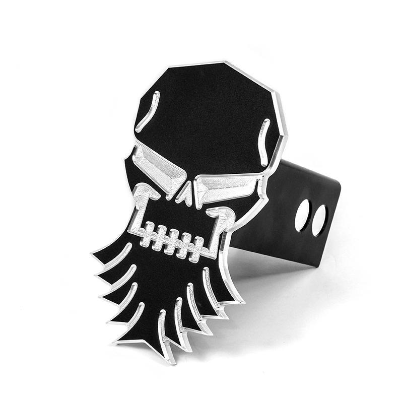 Bearded Skull Hitch Cover Diesel Power Gear