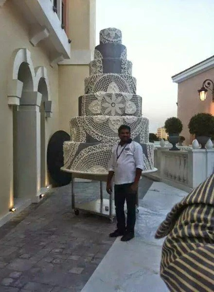 Guinness Book Of World Records Largest Wedding Cake