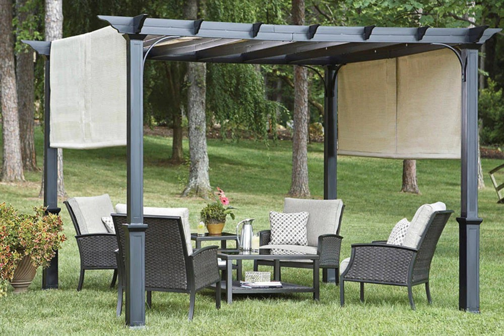 Lowes C J 110 Replacement Canopy For Garden Treasures 10