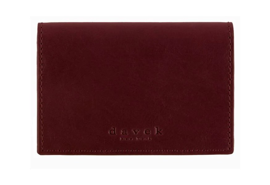 Burgundy Leather Business Card Holder   Leather Business Card Wallet     Burgundy Leather Business Card Holder   Leather Business Card Wallet    Davek Umbrellas