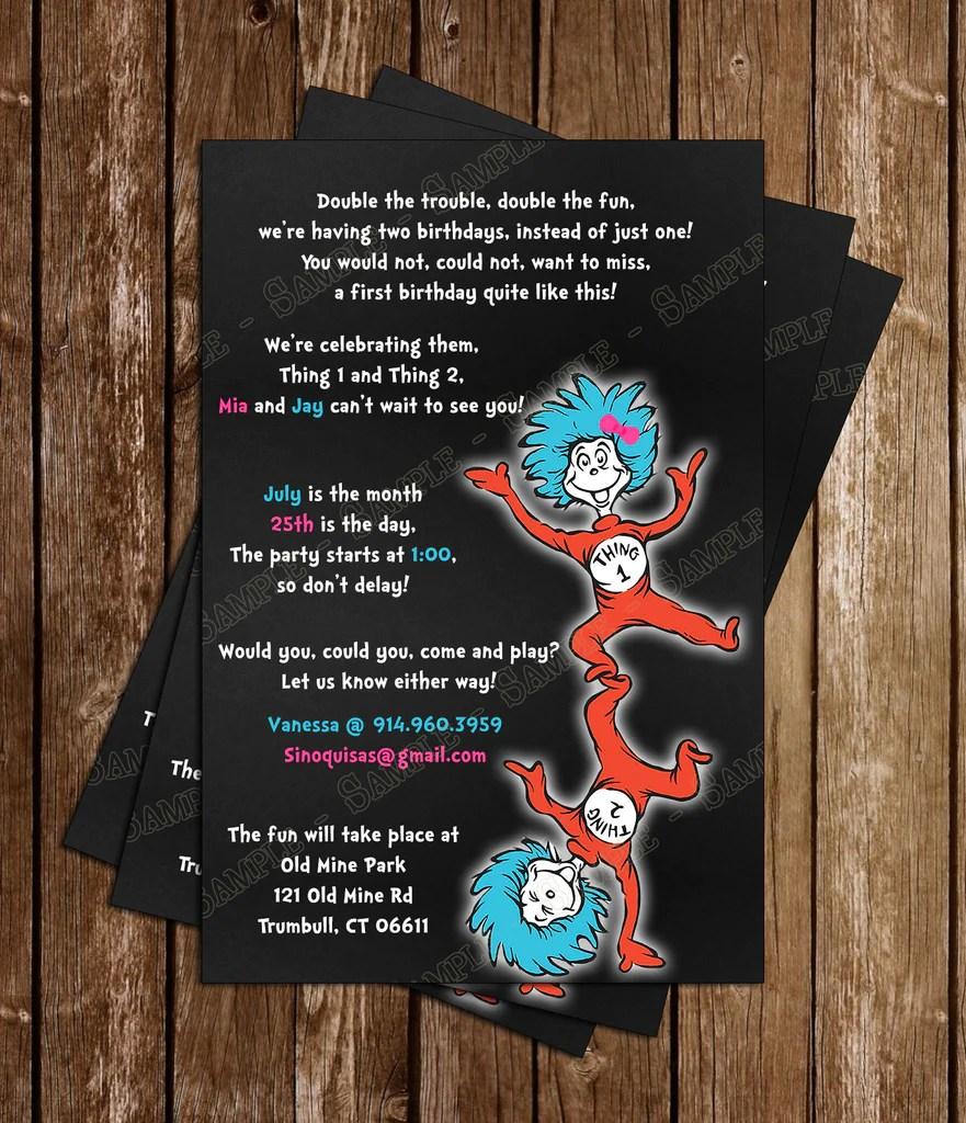 Printable Invitations 1st Birthday