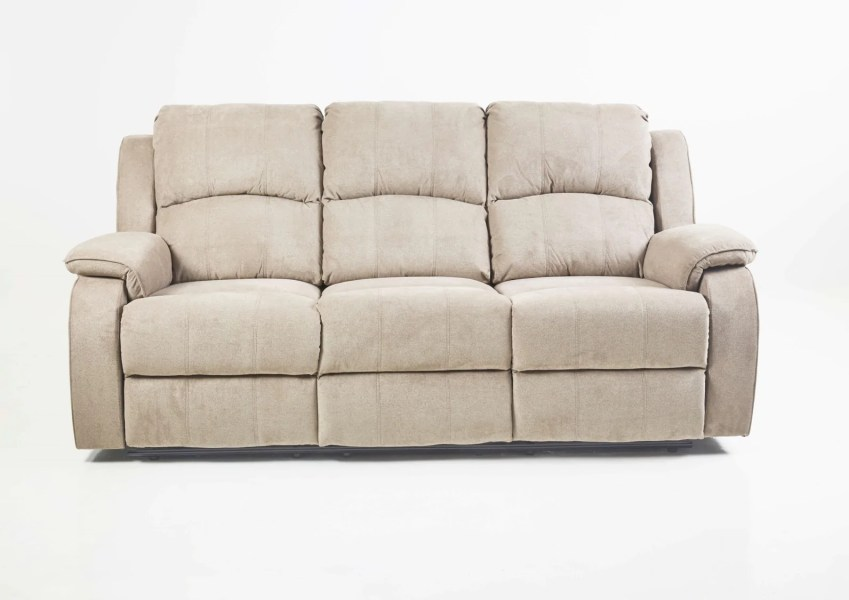 BALGAS        3 Seater Recliner Sofa   More Than Just A Sofa BALGAS   Manual Recliner Sofa