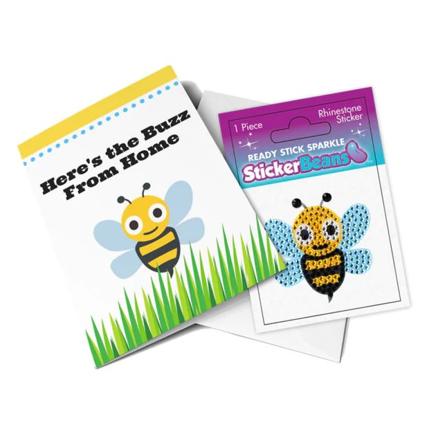 StickerBeans Card - Buzz from Home (bumblebee ...