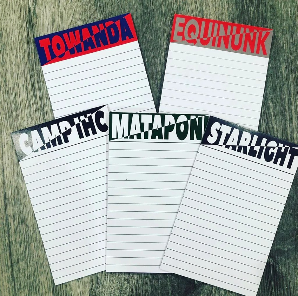 2-Tone Custom Camp Notepad – Camprageous Gifts