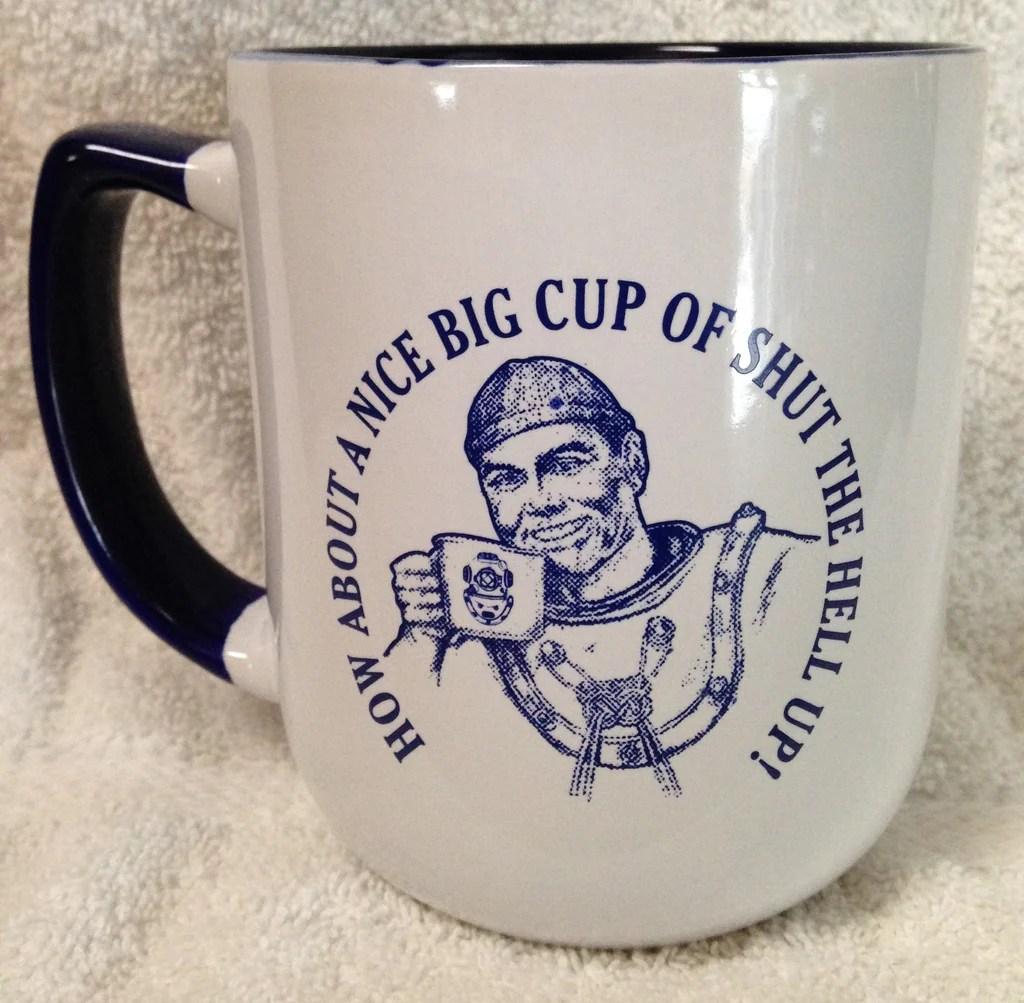 Coffee 8 Oz Cup Big How