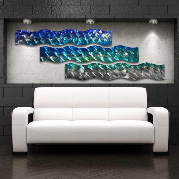 Large Lighted Canvas Art