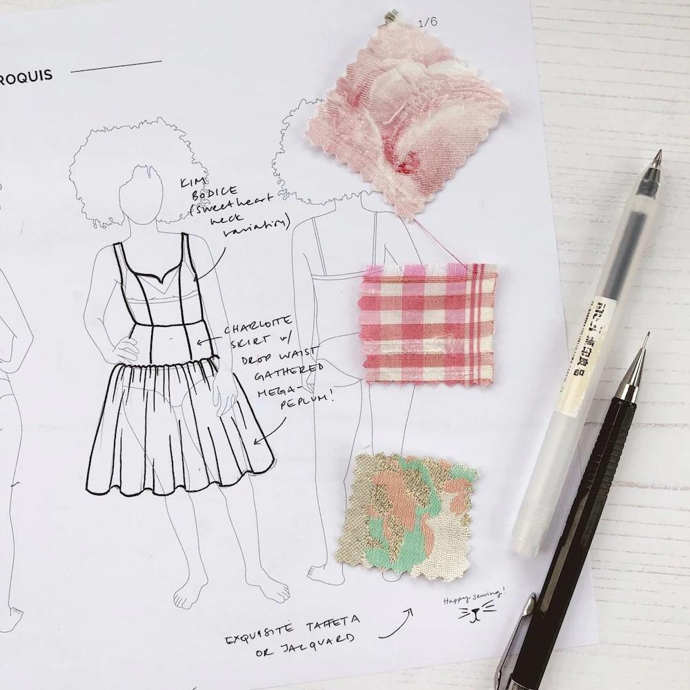 Anna Kiper Fashion Illustration Pdf Free Download Lily Rue