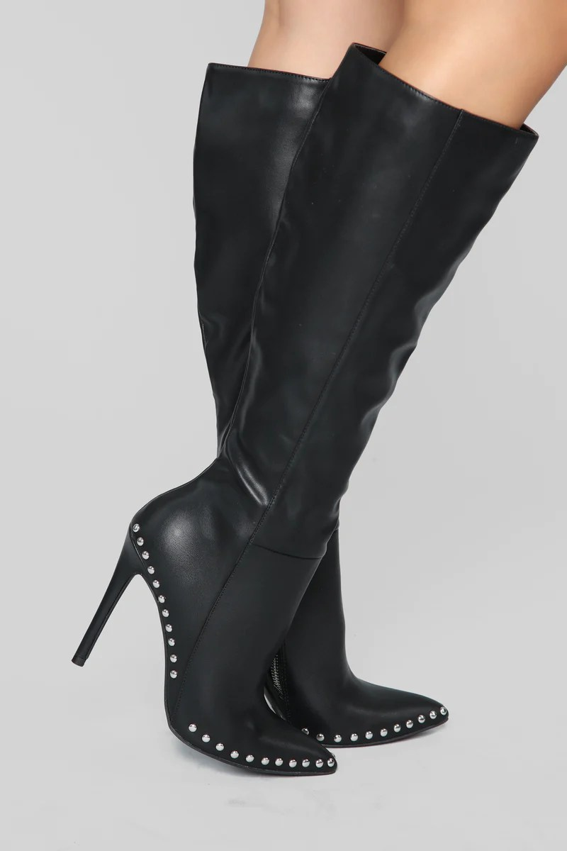 Womens Shoes  Boots  High Heels    Sandals Beware Boot   Black