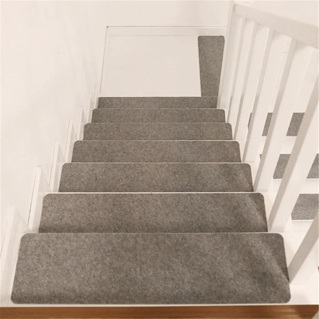 14Pcs Set Stair Treads Non Skid Slip Carpet Stair Treads Pads Soft | Rug Stair Treads Non Slip | Vinyl Flooring | Skid Resistant | 8.5 X26 | Overstock | Mat