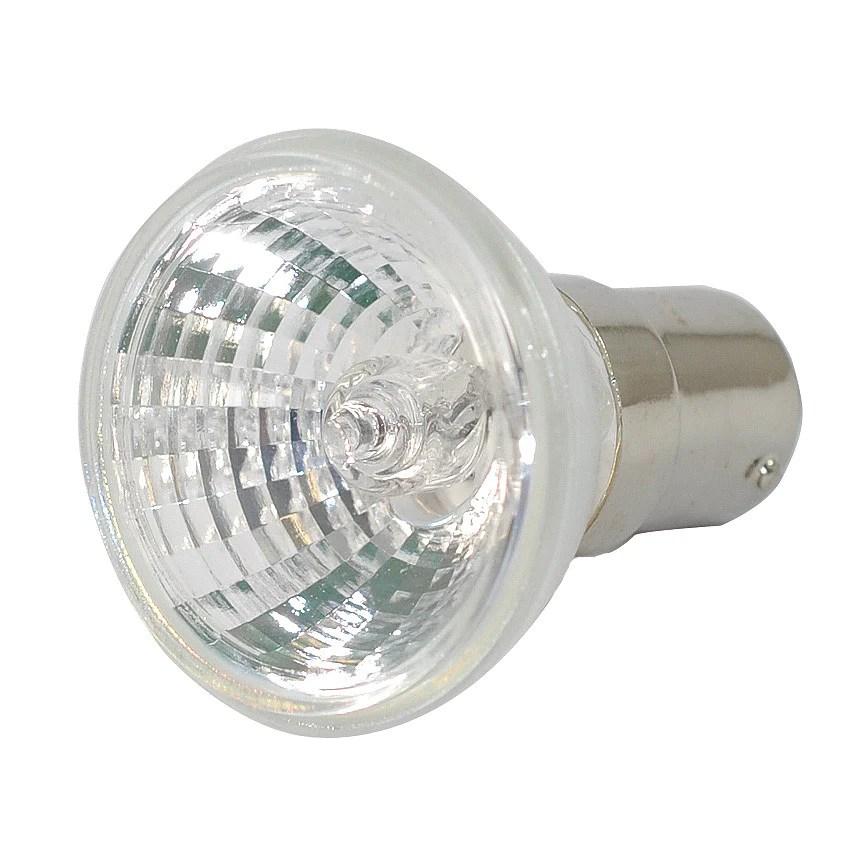 Ushio Fst 20w 12v Mr11 With Fg Ba15d Base Halogen Lamp