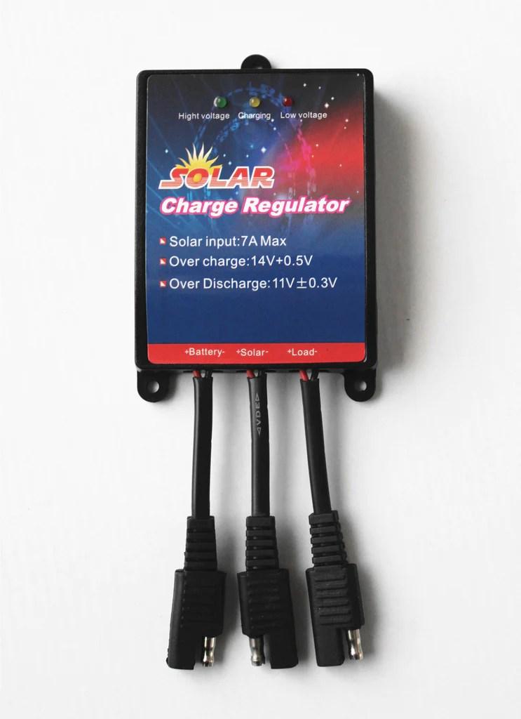12v Kit Battery Solar Charger