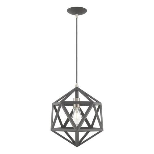 geometric mini pendant light # 50