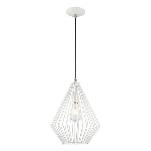 geometric mini pendant light # 19