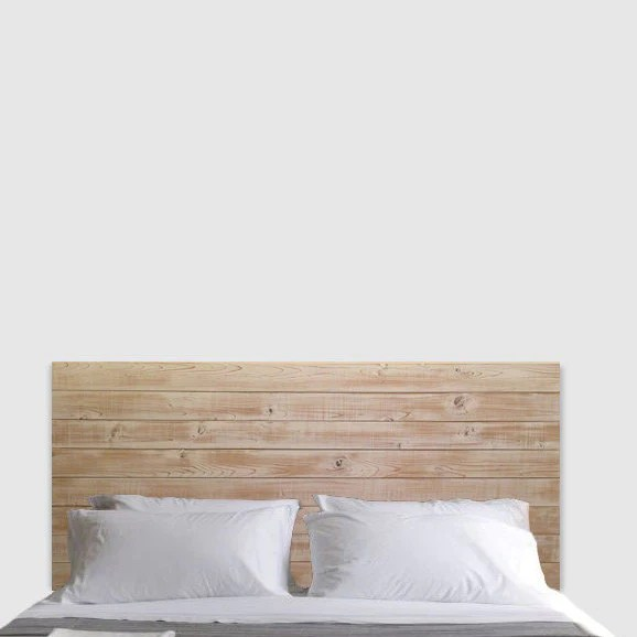 Rustic Beach Wood Whitewashed Barn Wood Style Bed Frame