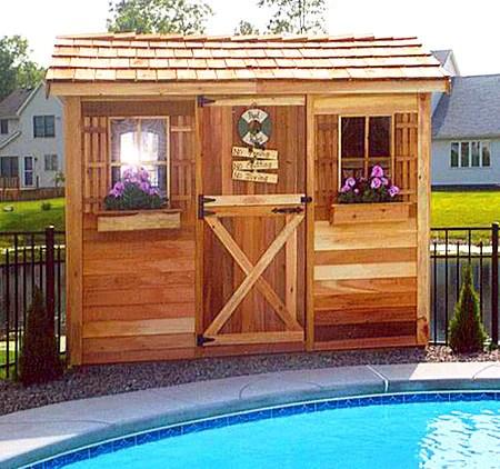 Pool Cabanas Cabana Kits Prefab Pool House Sheds Diy