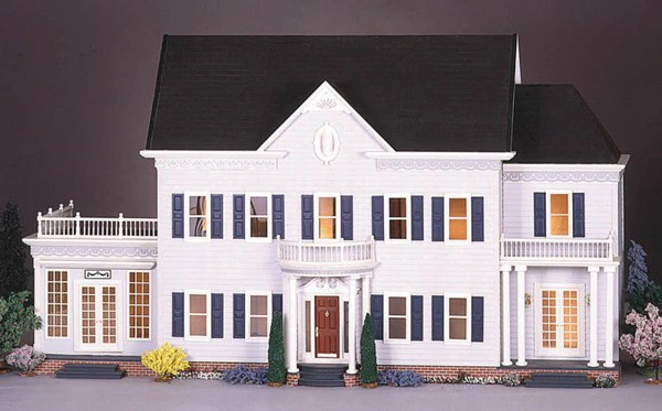 The Montclair Dollhouse Kit The Magical Dollhouse