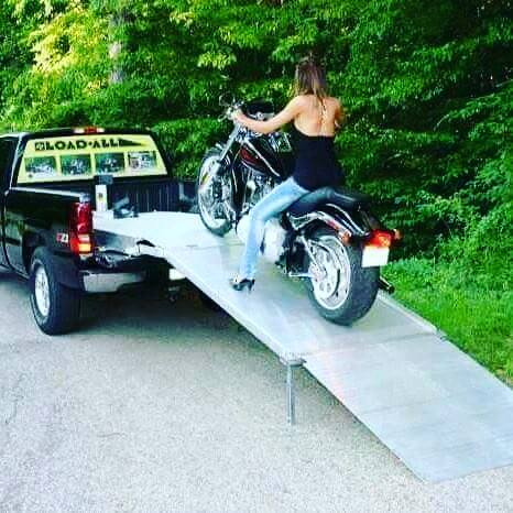 The Best Motorcycle Loading Ramp On The Market Loadall